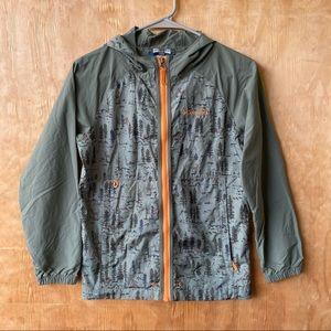 Columbia Youth Tree & Sasquatch Print Jacket